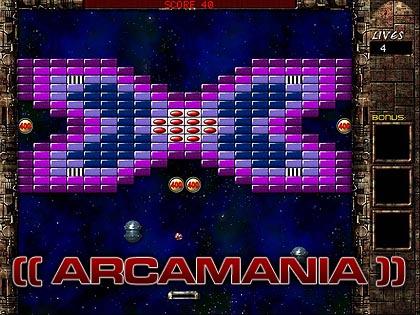 Screenshot of ArcaMania
