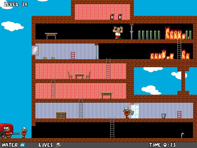 Click to view Fireman's Adventures 1.01 screenshot
