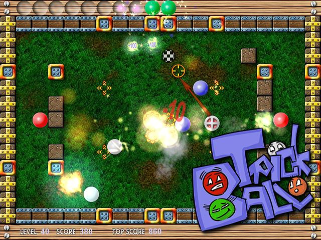 Did you enjoy pool, bowling, pinball and arcanoid?Play TrickBall and have it all